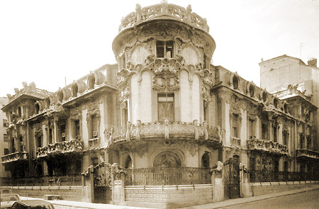 Palacio de Longoria - home of SGAE and CEDOA