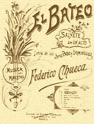 El bateo - Vocal Score cover