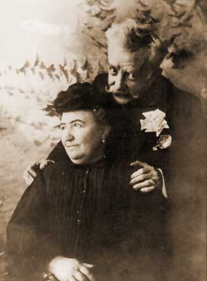 Chueca and his Wife (self-portrait)