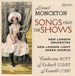 Lionel Monckton - Songs from the Shows (Hyperion)