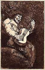 El Cantor Ciego (Goya - The Blind Singer)