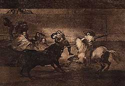 Death of Pepe-Hillo (Goya)
