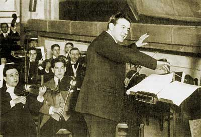 Guerrero conducts rehearsals for the Madrid premiere, January 1923
