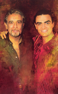 Placido Domingo and Rolando Villazon